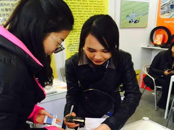 上海宝马展泰国客户